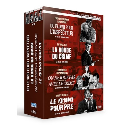 Pack 4 films noirs d'octobre 2016